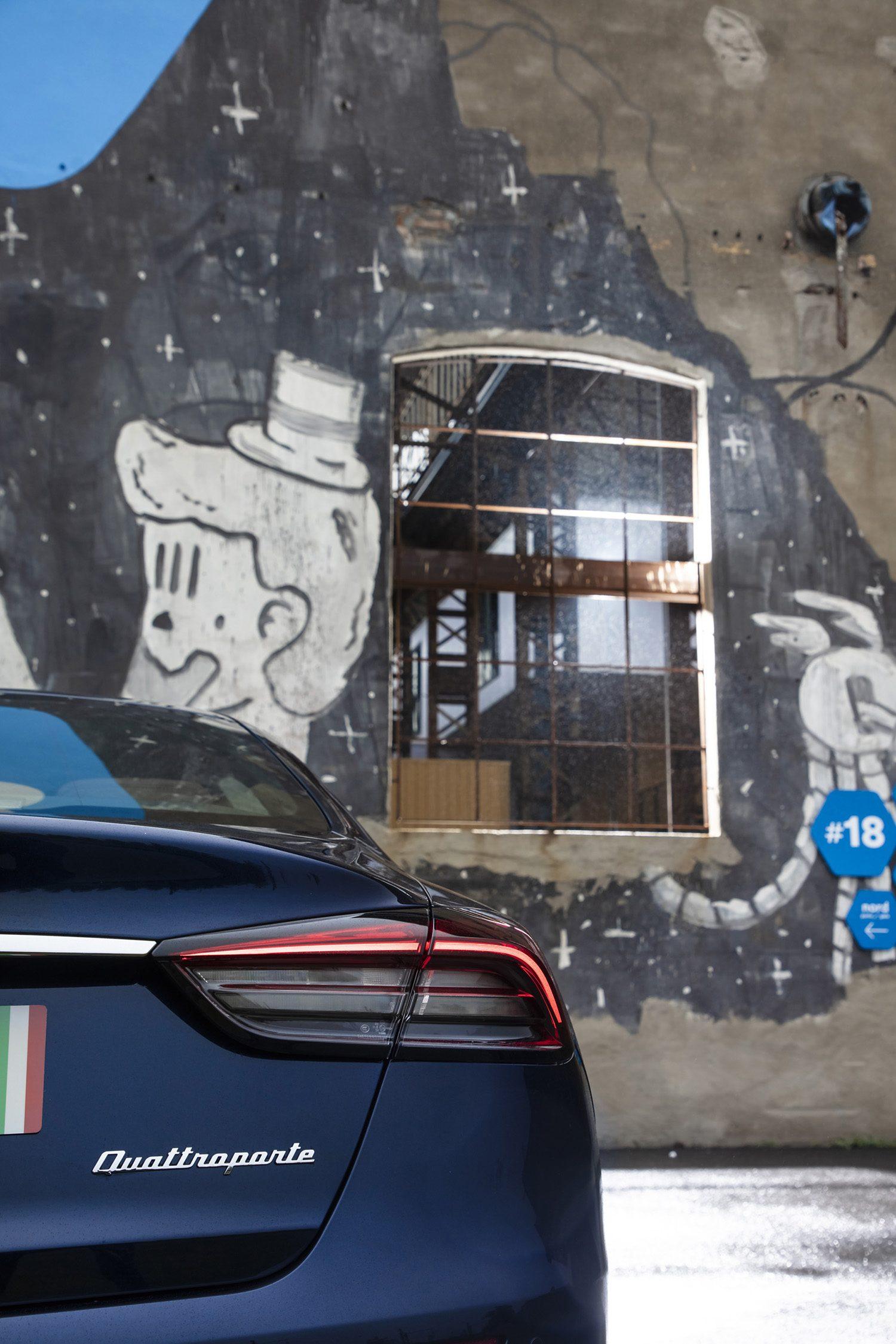 De Maserati Quattroporte koop je bij Louwman Exclusive