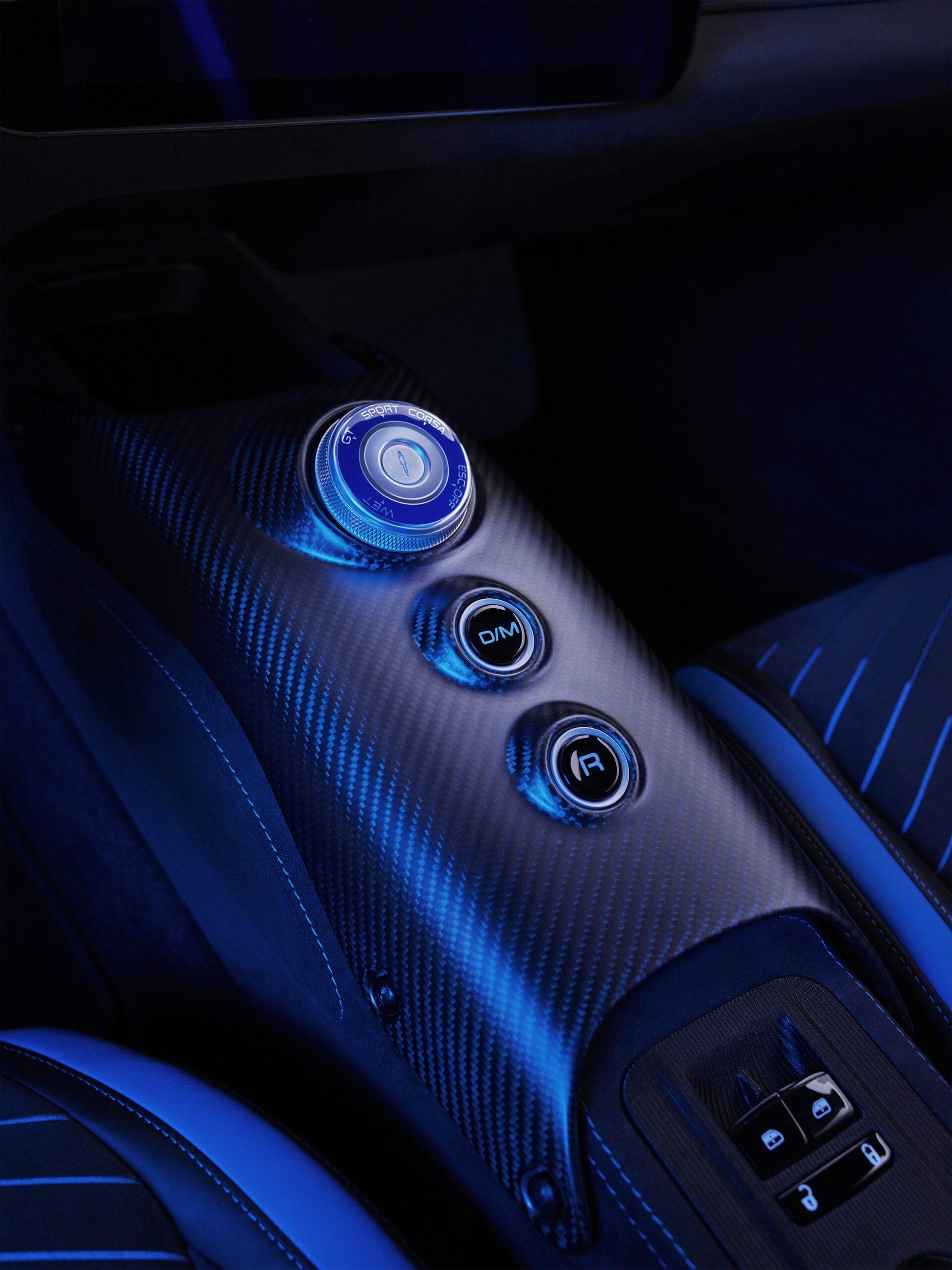 Of je nu de grenzen van sportiviteit wil opzoeken of wil genieten van comfortabel rijden, met de MC20 kan het allemaal. Je hebt keuze uit vier rijmodi; GT, Sport, Corsa en Wet.