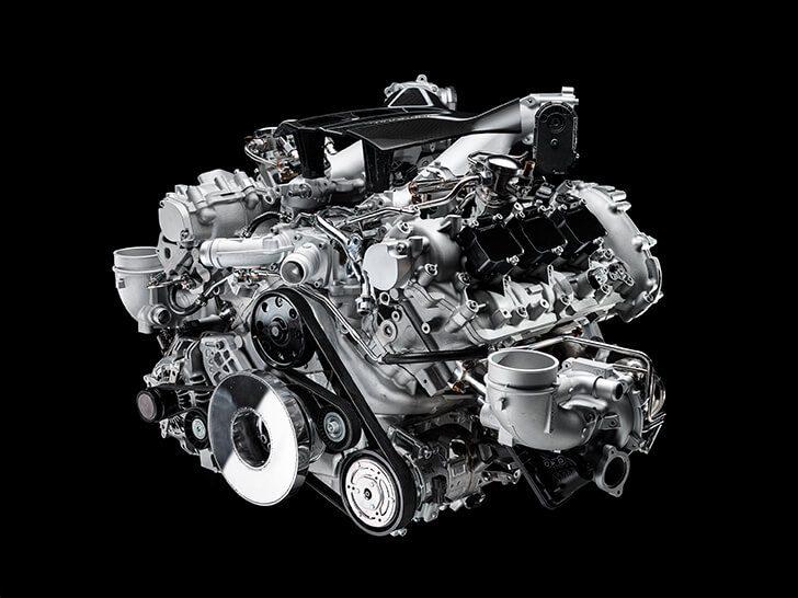 De MC20 is voorzien van een compleet nieuwe motor; de Nettuno.