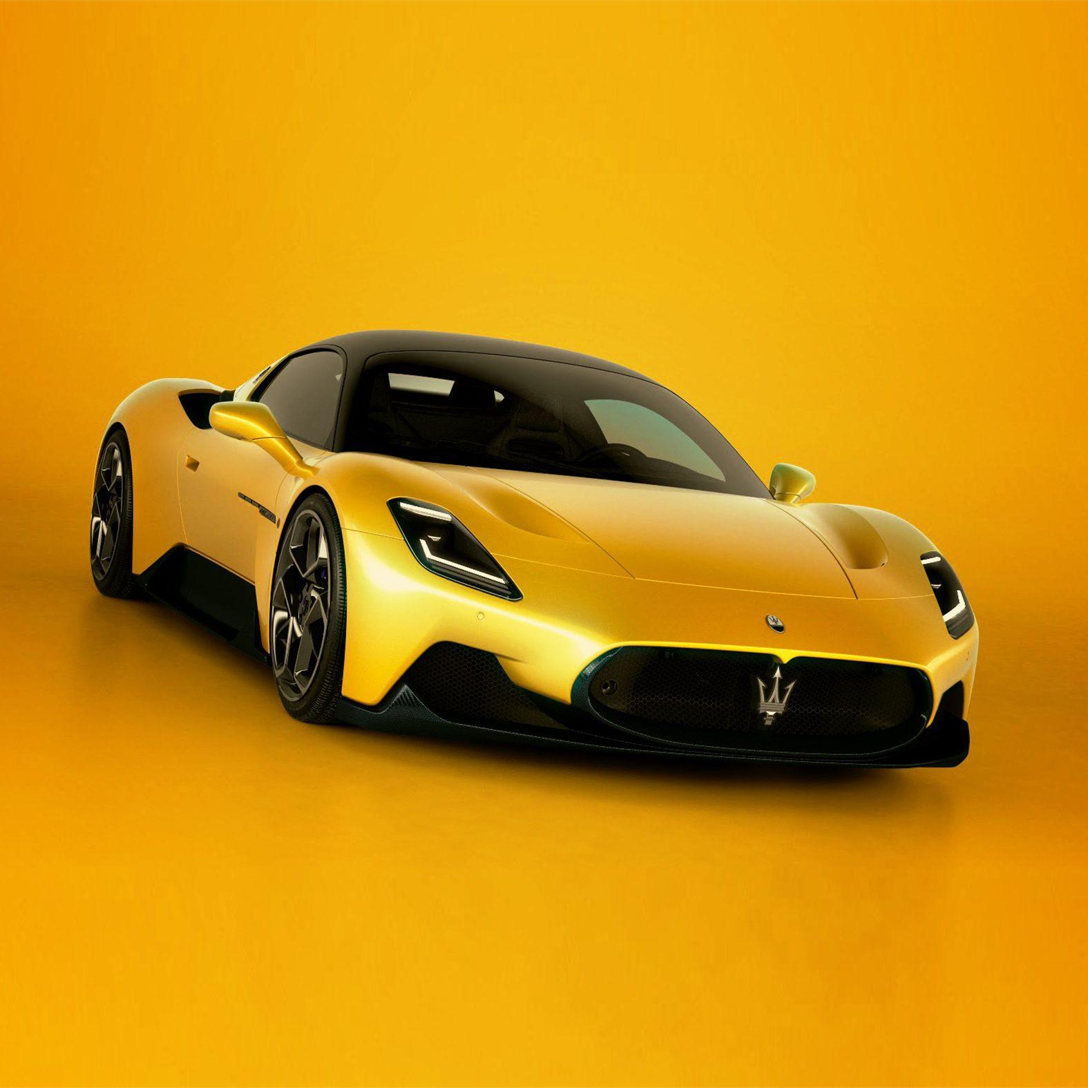 Speciaal voor de MC20 zijn er zes nieuwe, prachtige exterieurkleuren ontworpen.