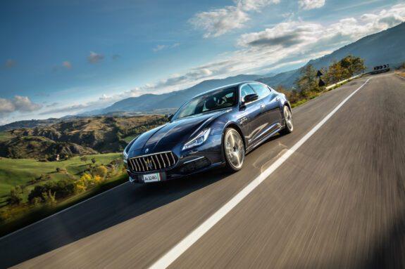 De Maserati Quattroporte vind je bij Louwman Exclusive