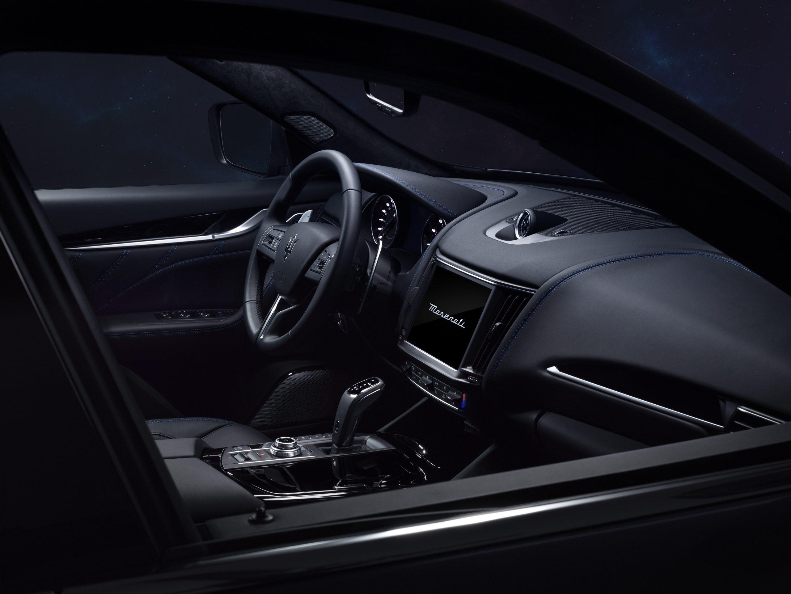 Het interieur van de Maserati Levante Hybrid heeft een grote update ondergaan.
