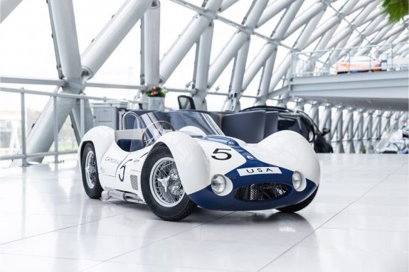 Maserati Birdcage Tipo 61 Junior Car Working Engine