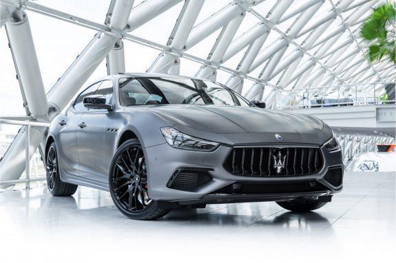 Maserati Ghibli 3.0 V6 S Q4 GranSport   Grigio Maratea Matte   Nerissimo Pack   Sunroof   Harman Kardon   Carbon 