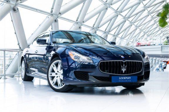 "Maserati Quattroporte 3.0 S Q4   Blu Passione   20"" Wheels   Heated/Ventilated Seats  "